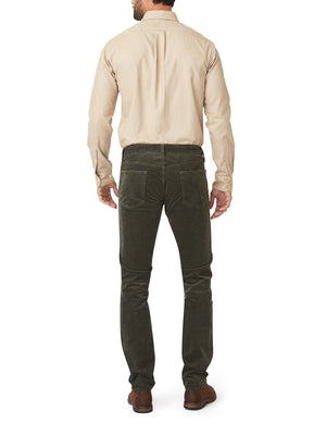 French Corders 5 Pocket Pant - Olive