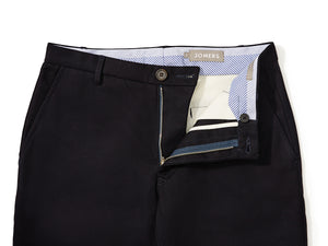 Pike (Slim) - Black Midweight Cavalry Twill Chino