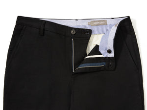 Percy (Slim) - Dark Navy High Ridge Twill Chino