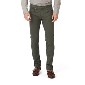 Japanese Bedford Cord Pant - Olive