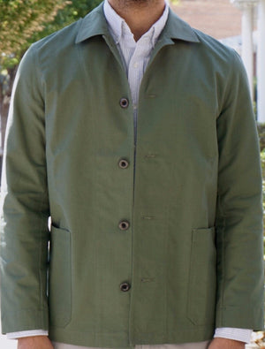 Kensington -  Olive NYCO Ripstop Jacket