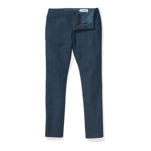 Japanese Linen Canvas Chino - Navy Blazer