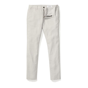 Japanese Linen Canvas Chino - Grey