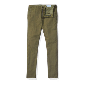 Japanese Linen Canvas Chino - Olive