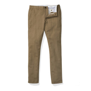 Worth (Slim) - Light Olive Baird McNutt Linen Chinos