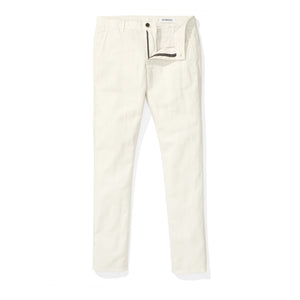 Japanese Linen Canvas Chino- Stone