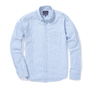 Cliff (Standard) - Light Wash Chambray Button Down