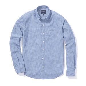 Graham (Slim) - Dark Wash Chambray Button Down