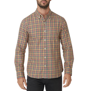 Washed Button Down Shirt - Logan Tattersall