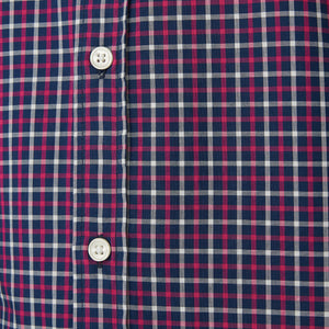 Washed Button Down Shirt - Newbury Tattersall