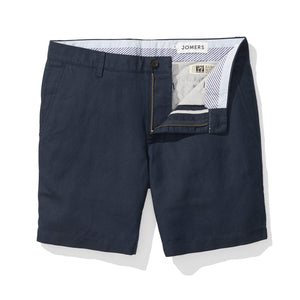 Navy Baird McNutt Irish Linen Mens Shorts