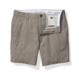 Grey Baird McNutt Irish Linen Mens Shorts