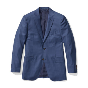 Murray - Blue Sharkskin Italian Wool Suit