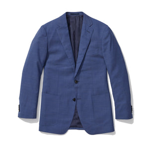 Harrison - Blue Patch Pocket Italian Wool Suit
