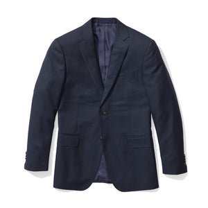 Ardsley - Blue Hopsack Italian Wool Suit