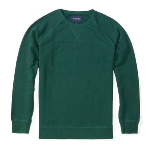 Dennis - Hunter Green French Terry Sweatshirt