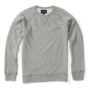 Johnny - Heather Gray French Terry Sweatshirt