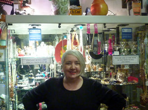 Valerie Thornton Hunter in Iconic Shop in Edinburgh