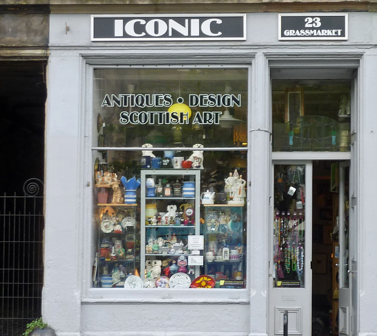 Iconic Edinburgh Shop Front