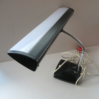 1960s Japanese Extra Long Shade Desk Lamp Piano Lamp. Space Age