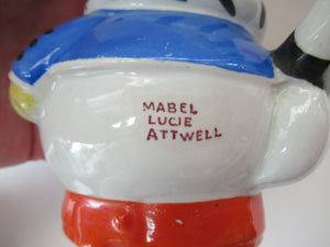 1930s Shelley Pottery Mabel Lucie Attwell Nursery Teaset
