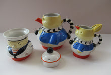 Load image into Gallery viewer, 1930s Shelley Pottery Mabel Lucie Attwell Nursery Teaset