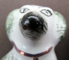 Load image into Gallery viewer, Antique Miniature Staffordshire Chimney Spaniels