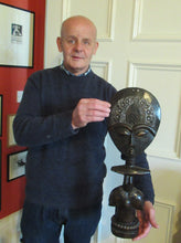 Load image into Gallery viewer, Robert Thornton with African Ashanti Fertility Figure
