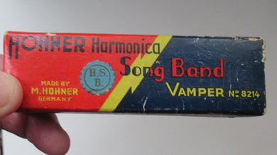 Hohner Vamper Song Band Mouth Organ. No 8212. Made in Germany
