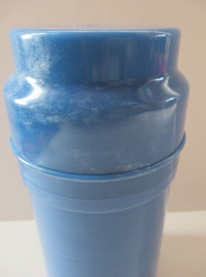 1920s Art Deco Early Plastic Thermos Flask with Cork Stopper