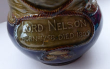 Load image into Gallery viewer, 1905 Royal Doulton Lord Nelson Jug