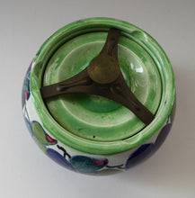 Load image into Gallery viewer, SCOTTISH POTTERY. 1930s BOUGH Pottery. Rare Ceramic Tobacco Jar. Hand-Painted by Elizabeth Amour