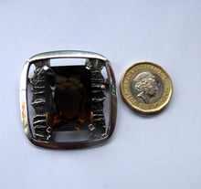 Load image into Gallery viewer, SCOTTISH SILVER Designer Brooch by William Hardwick Hall