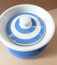 Load image into Gallery viewer, 1930s Cornishware Storage Jar: Almonds