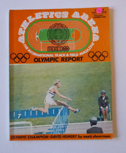Load image into Gallery viewer, ATHLETICS Arena. Official Report on the Olympic Games. MEXICO 1968. VERY Rare Publication. Soft Covers