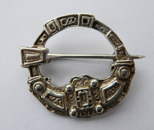 Load image into Gallery viewer, SCOTTISH SILVER. Hunterston Brooch. Vintage Hallmarked Replica by the Silversmith Hamish Dawson-Bowman