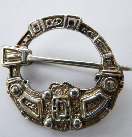 SCOTTISH SILVER. Hunterston Brooch. Vintage Hallmarked Replica by the Silversmith Hamish Dawson-Bowman