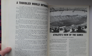 1972 MUNICH OLYMPICS. Rare Book. 1972 Olympic Games: A Runner's World Magazine by World Publication. Very Rare