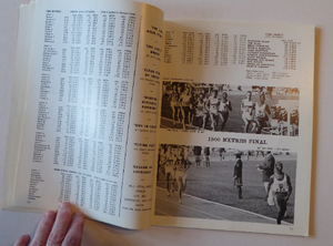 ATHLETICS Arena. Official Report on the Olympic Games. MEXICO 1968. VERY Rare Publication. Soft Covers