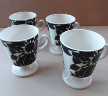 Load image into Gallery viewer, Funky 1960s JAVA Flower Power Coffee Cups. Oslo Shape by Carlton Ware. Sold as single items for spares