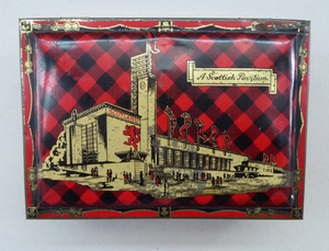 Glasgow Empire Exhibition Shortbread Tin 1938