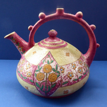 Load image into Gallery viewer, Beautiful Austrian 1910s Art Nouveau / Jugenstil Amphora Puzzle Teapot or Kettle, with Wiener Werkstatte inspired decoration