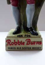 Load image into Gallery viewer, Rubberoid Whisky Advertising Figure Robert Burns