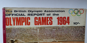 Official Report of the Olympic Games. IXth Winter Olympics Innsbruck and XVIII Olympiad TOKYO 1964. Rare Publication. Soft Cover