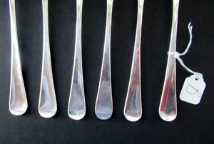 1960s Robert Welch Alveston Silver Plate Forks