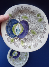 Load image into Gallery viewer, Vintage 1960s RORSTRAND EDEN Dessert Plates. 8 1/2 inch diameter. THREE Plates