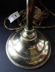 Edwardian Brass Lamp