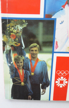 Load image into Gallery viewer, Official Report. British Association Olympic Games 1984. Winter Olympics Sarajevo and XXIII Olympiad Los Angeles. Rare Publication