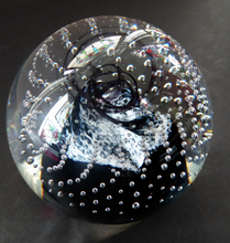 Load image into Gallery viewer, Caithness Paperweight Cauldron Sable 1985