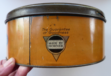 Load image into Gallery viewer, Horner's Toffee Tin College Boy Image on Lid